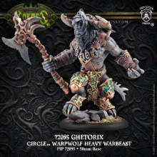 Ghetorix Orboros Warpwolf Heavy Warbeast 2016 Resin
